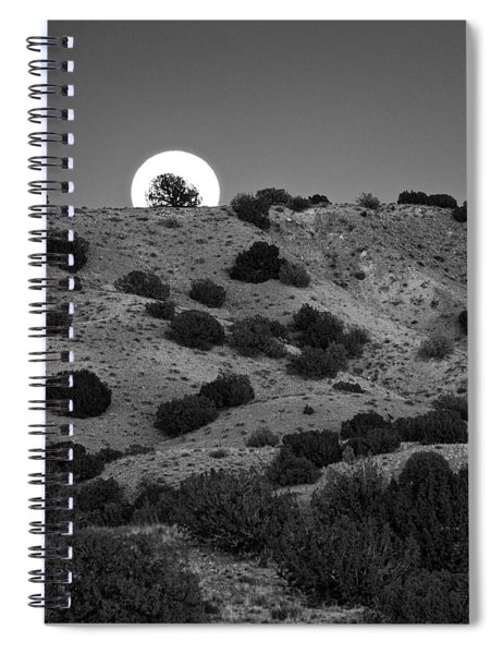 Juniper At Moonrise Spiral Notebook