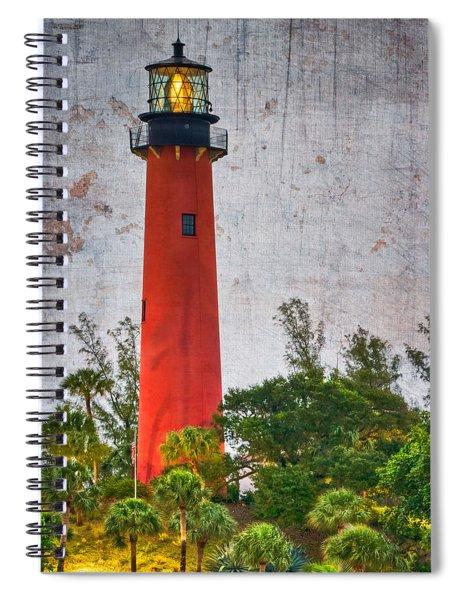 Jupiter Lighthouse Spiral Notebook