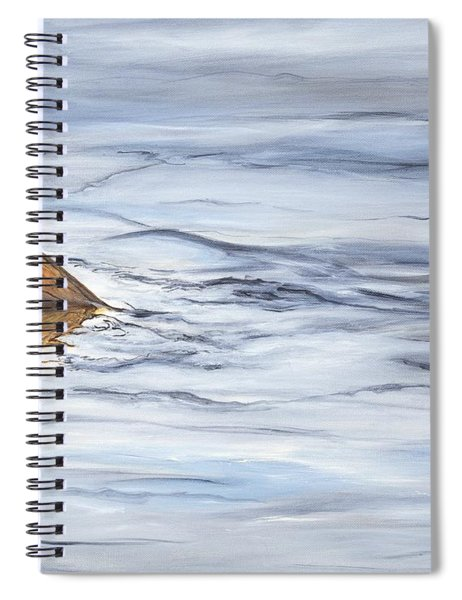 Finning Quietly Spiral Notebook