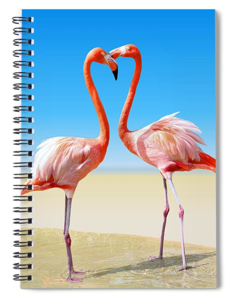 Just We Two Spiral Notebook