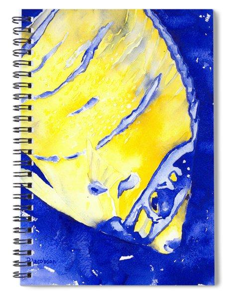 Juvenile Queen Angelfish Spiral Notebook