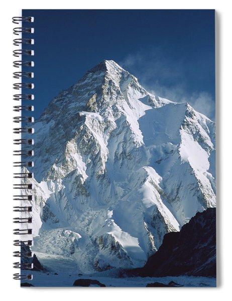 K2 At Dawn Pakistan Spiral Notebook