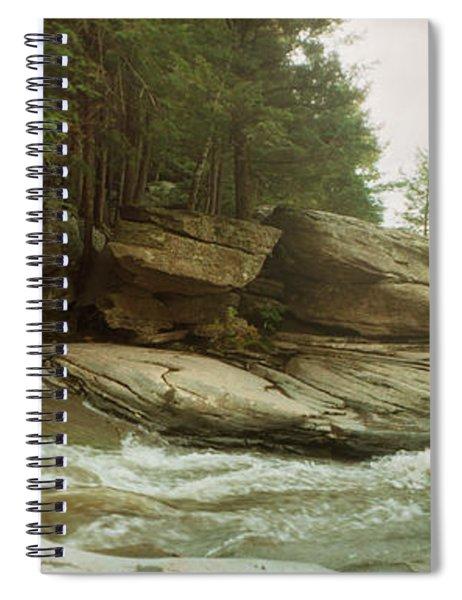 Kaaterskill Falls In Autumn, Catskill Spiral Notebook