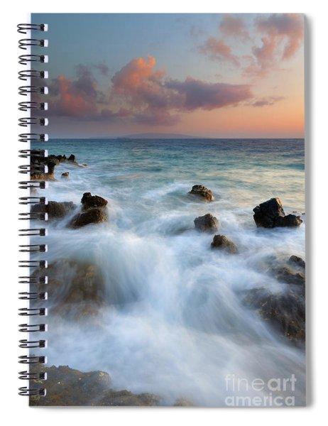 Kahoolawe Sunset Spiral Notebook