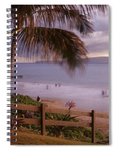 Kai Makani Hoohinuhinu O Kamaole - Kihei Maui Hawaii Spiral Notebook