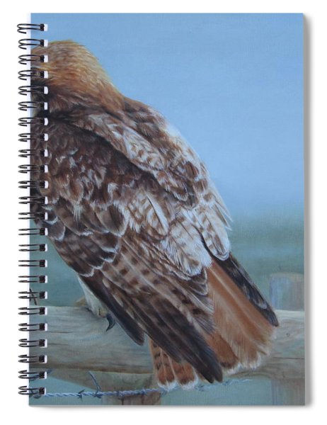Kaiser's Hawk Spiral Notebook