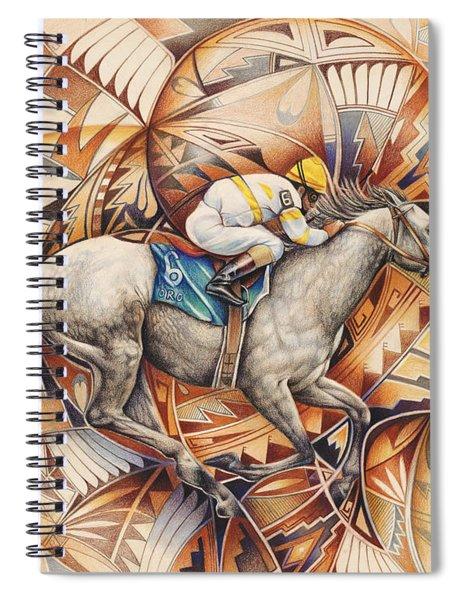 Kaleidoscope Rider Spiral Notebook
