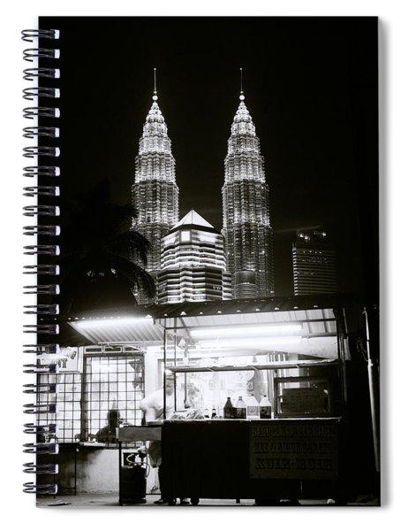 Kampung Baru Night Spiral Notebook