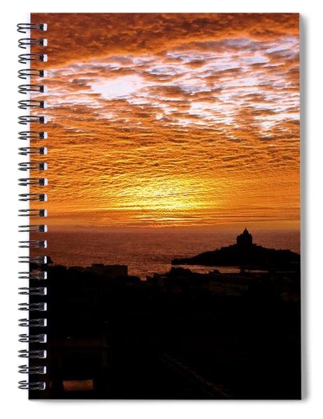 Kanyakumari Dawn Spiral Notebook
