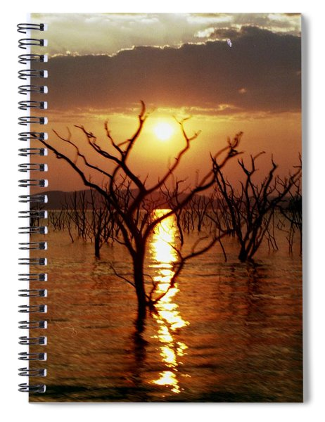 Kariba Sunset Spiral Notebook