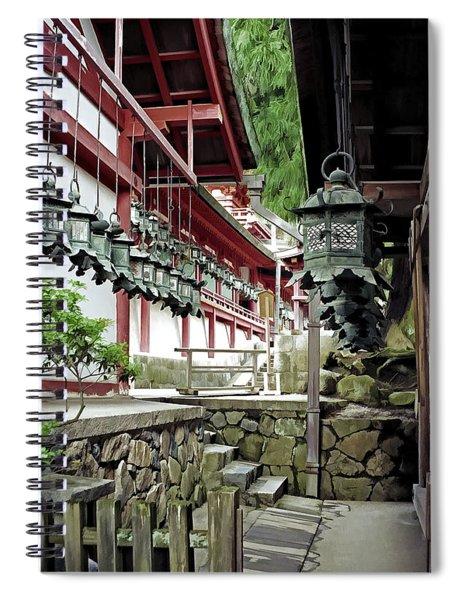 Kasuga Lantern Shrine - Nara Japan Spiral Notebook