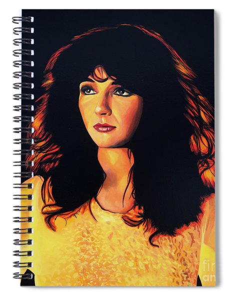 Kate Bush Painting Spiral Notebook