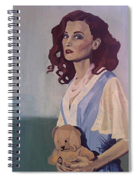 Katie - Teddy Bear Spiral Notebook