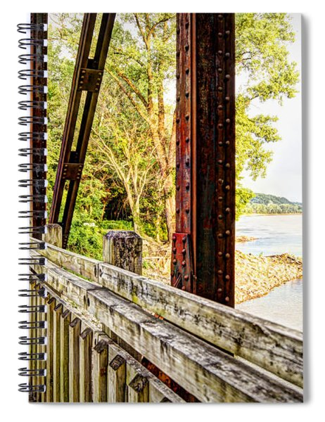 Katy Trail Near Coopers Landing Spiral Notebook