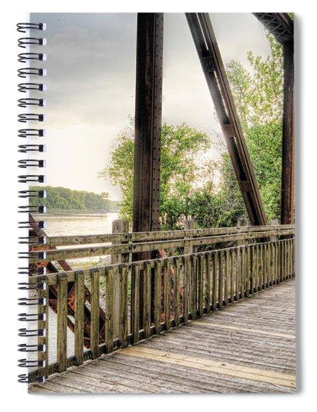 Katy Trail Near Easley Spiral Notebook