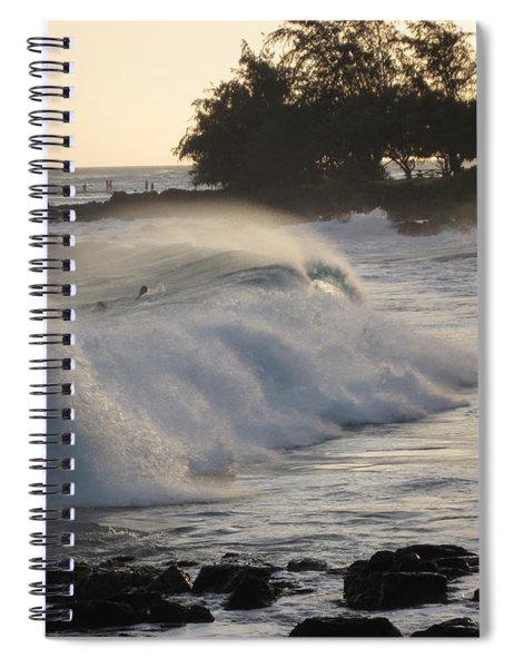 Kauai - Brenecke Beach Surf Spiral Notebook
