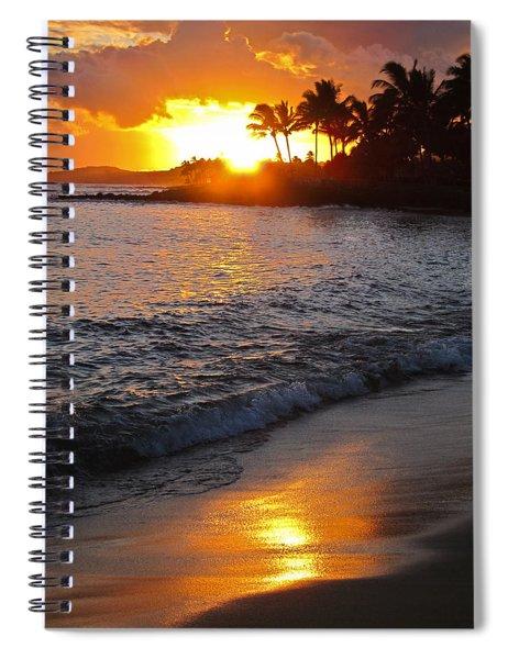 Kauai Sunset Spiral Notebook