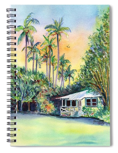 Kauai West Side Cottage Spiral Notebook