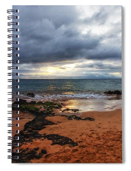 Keawakapu Sunset Spiral Notebook