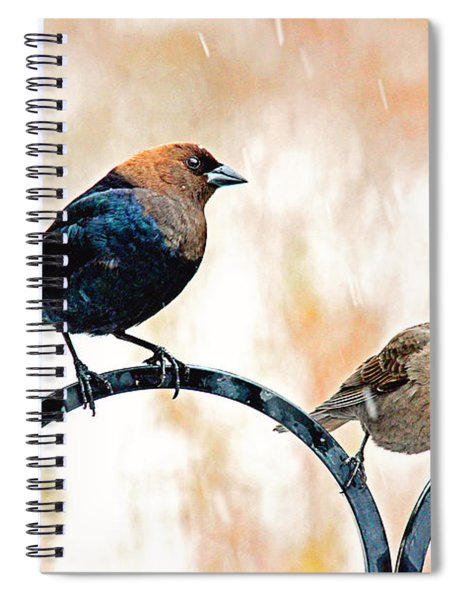 Keep Holding On Spiral Notebook