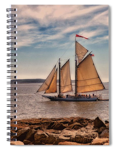 Keeping Vessels Safe Spiral Notebook