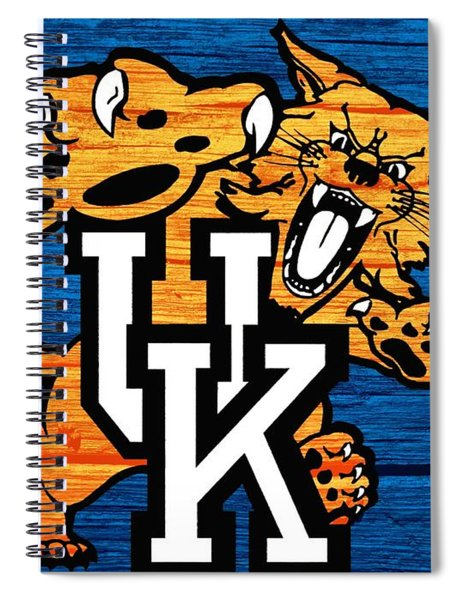 Kentucky Wildcats Barn Door Spiral Notebook