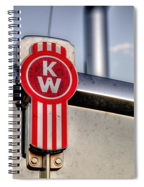 Kenworth Hood Logo 34709 Spiral Notebook