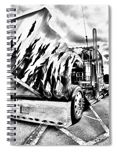 Kenworth Rig Spiral Notebook
