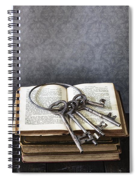 Key Ring Spiral Notebook
