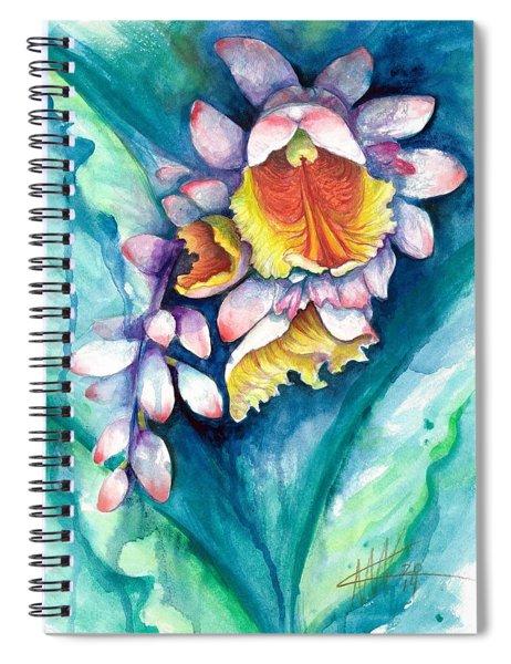 Key West Ginger Spiral Notebook