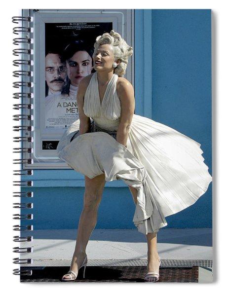 Key West Marilyn Spiral Notebook