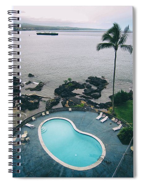 Kidney Pool In Paradise Spiral Notebook