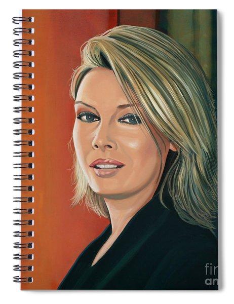 Kim Wilde Painting Spiral Notebook