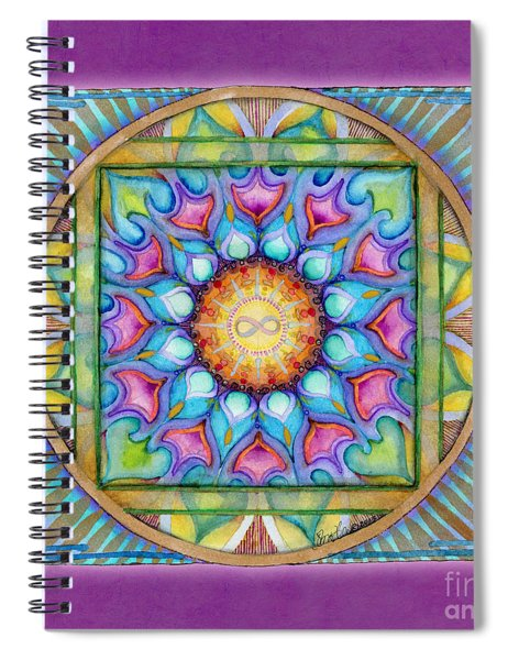 Kindness Mandala Spiral Notebook