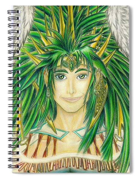 King Crai'riain Portrait Spiral Notebook