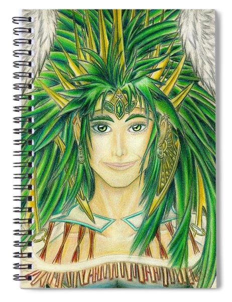 King Crai'riain Portrait Spiral Notebook