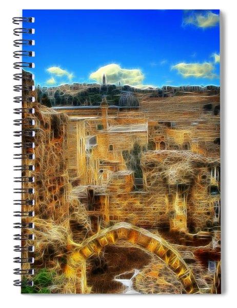 Peaceful Israel Spiral Notebook