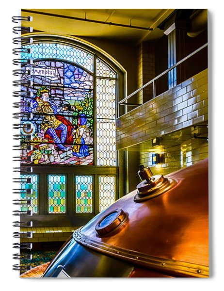 King Gambrinus Spiral Notebook