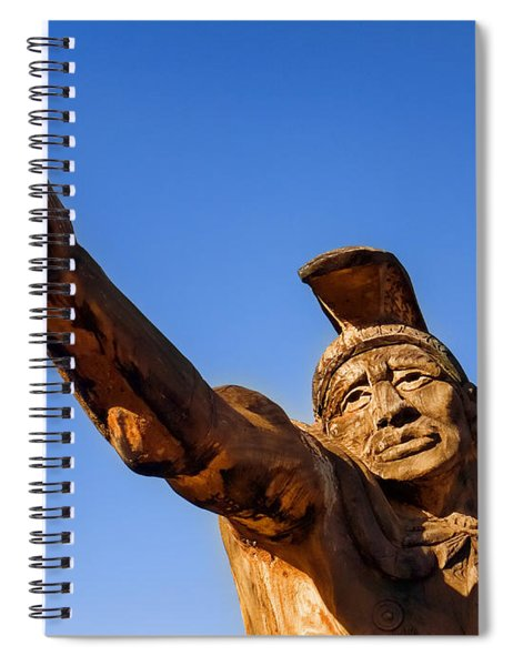King Kamehameha Spiral Notebook