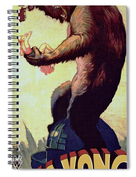 Spiral Notebook featuring the photograph King Kong  by Movie Poster Prints