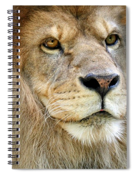 King Of The Beasts Spiral Notebook