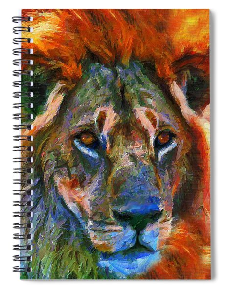 King Of The Wilderness Spiral Notebook