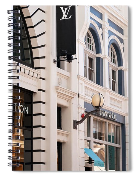 King Street 01 Spiral Notebook