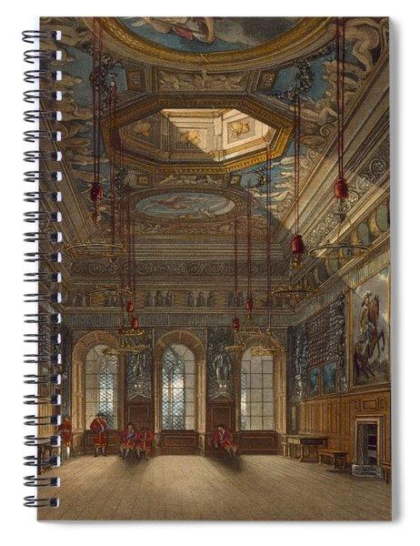 Kings Guard Chamber, Windsor Castle Spiral Notebook