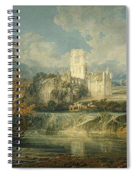Kirkstall Abbey, Yorkshire, 1797 Spiral Notebook