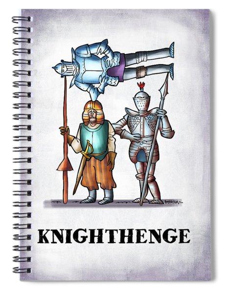 Knighthenge Spiral Notebook