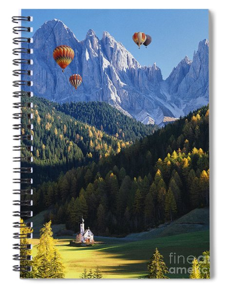Know No Bounds Spiral Notebook