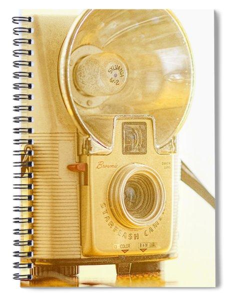 Kodak Brownie Starflash Camera Spiral Notebook