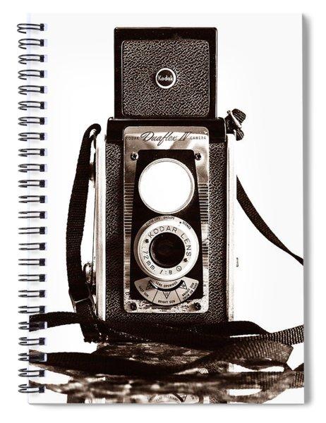 Kodak Duaflex Iv Camera Spiral Notebook