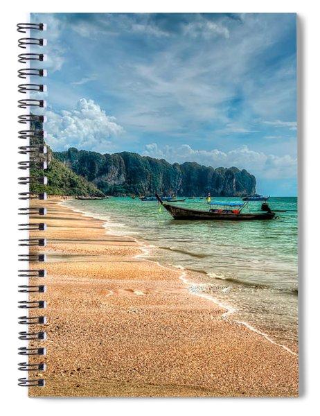 Koh Lanta Beach Spiral Notebook